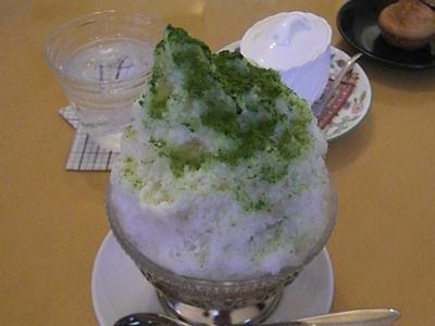 2011.8.7 とうちゃんのかき氷