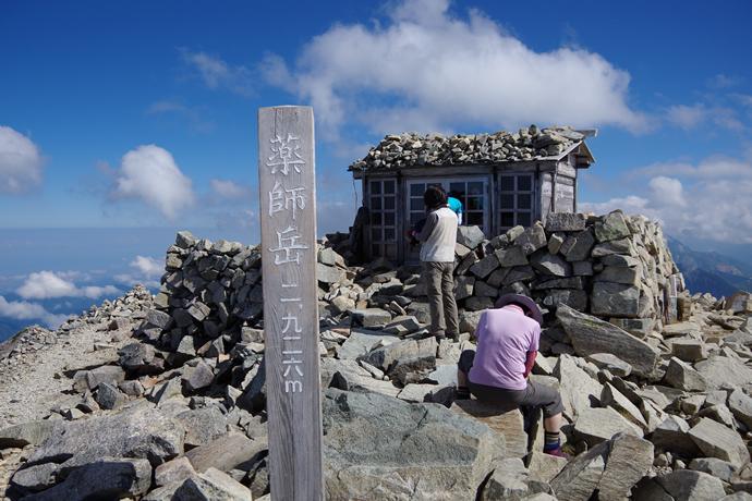 201209薬師岳31
