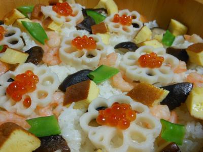 2012 03 08 ちらし寿司