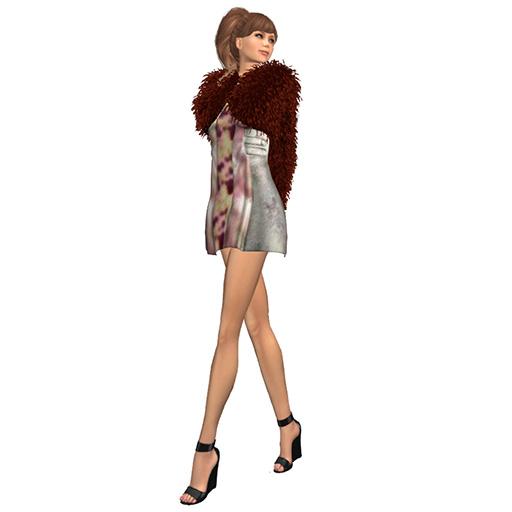 Secondlife closet Mesh Dress