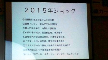 2015ショック