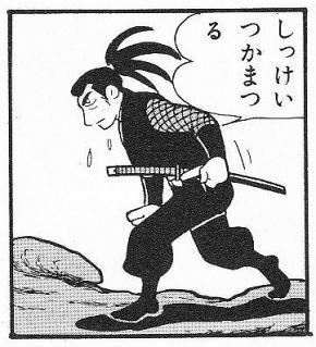 紳士な飛騨忍者