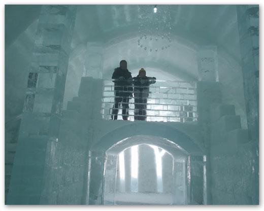 アイスバー2階から