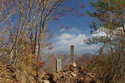 茅が岳1704m深田久弥終焉の地(200711)