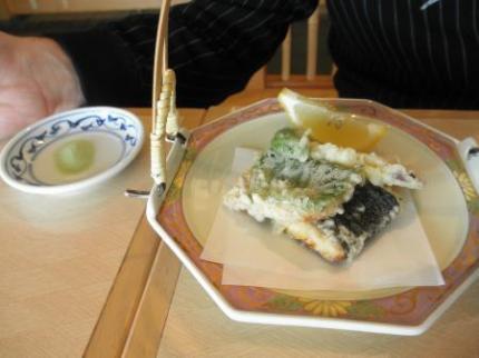 天ぷら抹茶塩