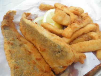 買ったFish and chips