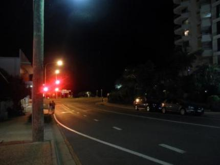 夜のSunshine Coast