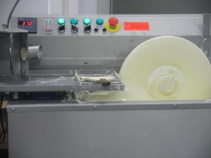 チョコレートの機械