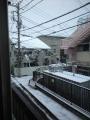 雪2ベランダ