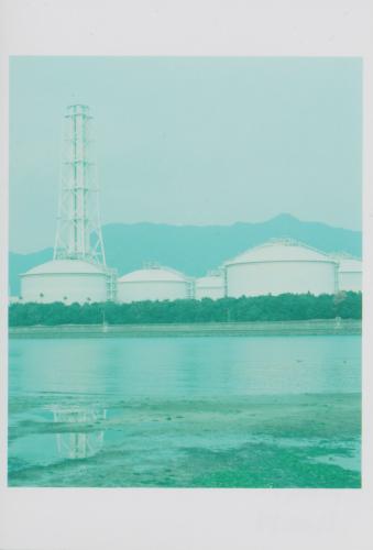 水色のタンク