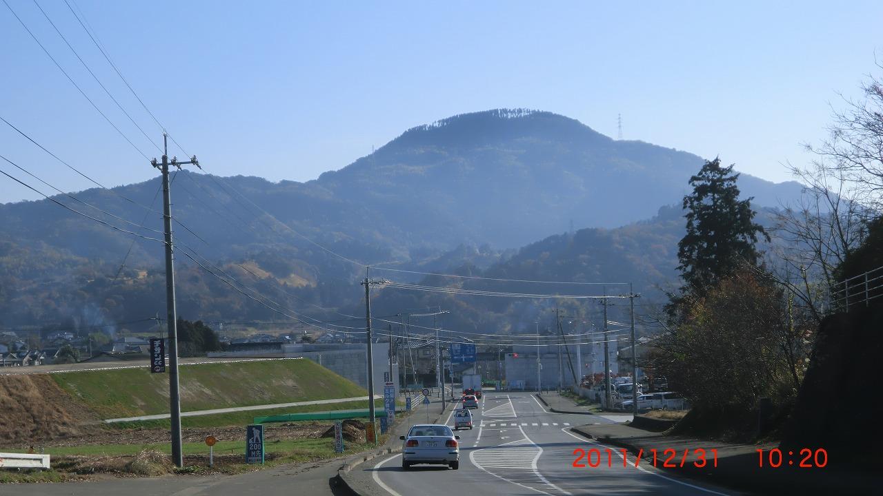飯田山 嘉島町方向から