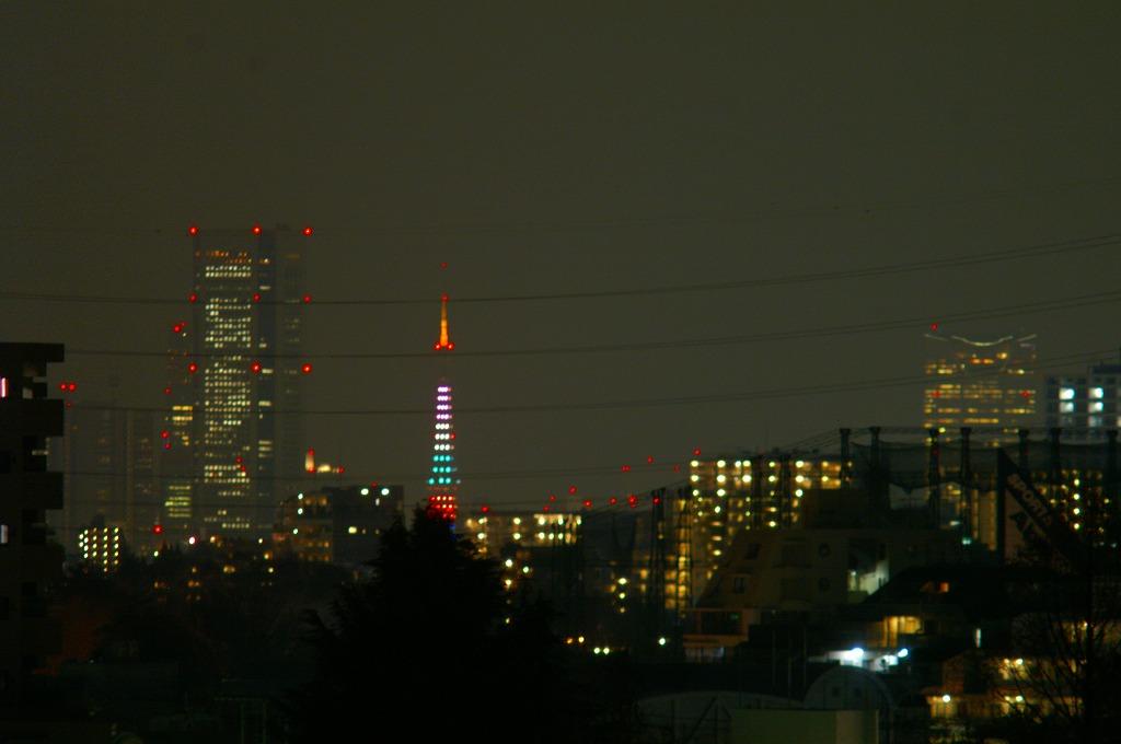 東京タワー5色