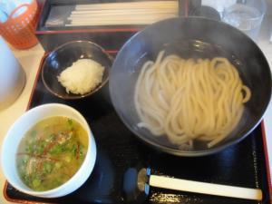 牡蠣塩バターつけ麺
