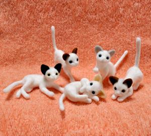 5匹の猫制作中140123 007