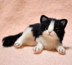 5匹の猫制作中140123 014
