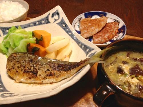 Jan15_アジと野菜のソテー