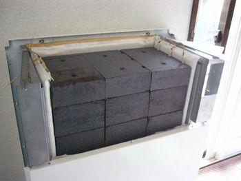 蓄暖構造レンガ
