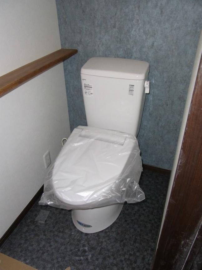 トイレ修正前