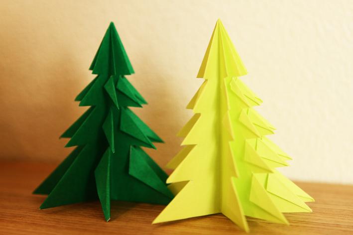 簡単 折り紙 折り紙 木 : divulgando.net