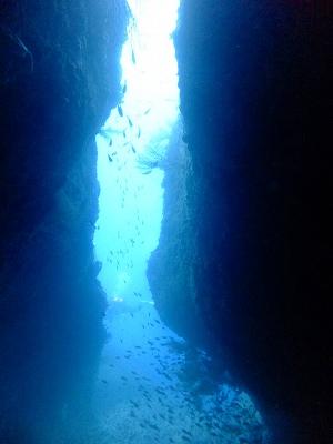 牛着岩の子牛の洞窟