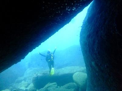 三競の洞窟