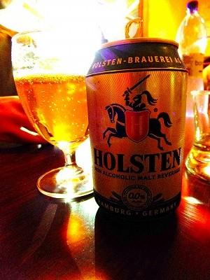 ノンアルコールビール「Holstain」