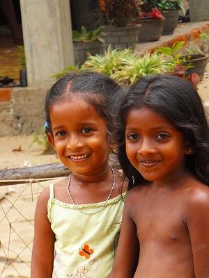 スリランカの美少女