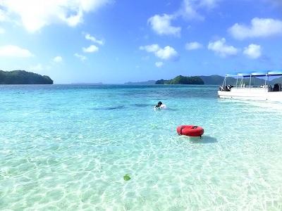 ガルメアウス島で撮影