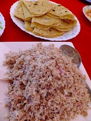 モルディブの定番朝食料理、マスフニ