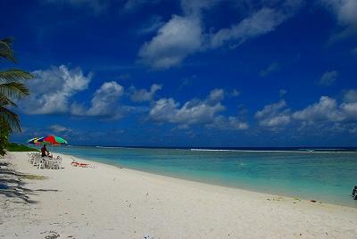 フルマーレのビーチ