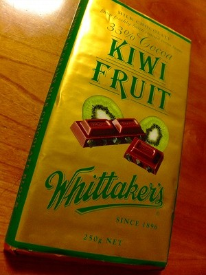 NZ土産のキィウィチョコレート