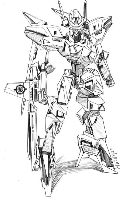 電脳戦機バーチャロンOMG【バイパーII】