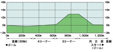 京都芝1200高低表
