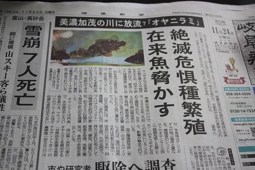 新聞記事 東海 岐阜 熱帯魚 水草 観葉植物販売 Grow aquarium