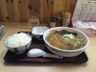 魚醤 あさりラーメン1