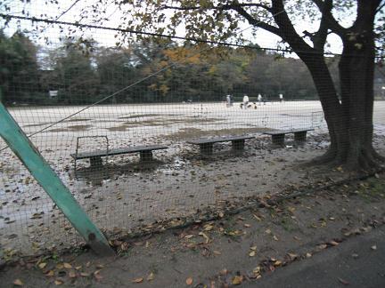水たまりの公園