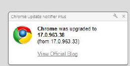 Chrome Update Notifier Plus-227