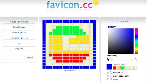 ファビコンを自作63