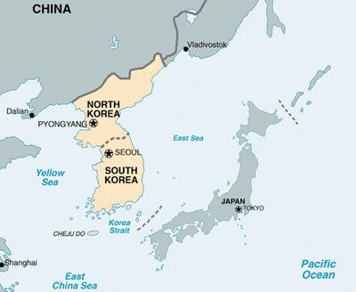 韓国天気予報 ウリカトール 日本地図