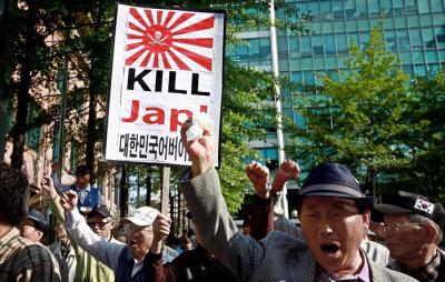 反日デモ 日本人を殺せ