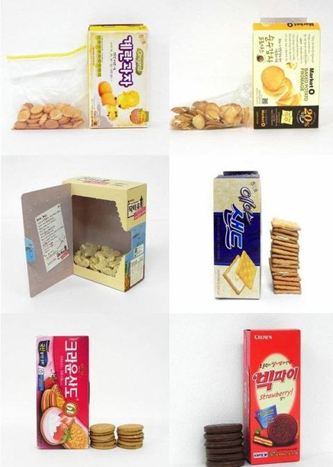 韓国 お菓子 包装2