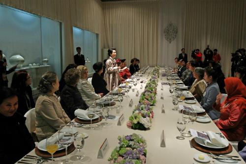 大統領夫人 晩餐会 国立中央博物館