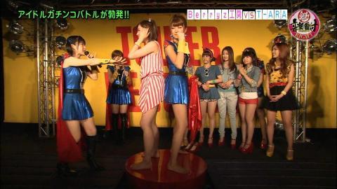 日韓女子 日本VS韓国 167VS164Cm