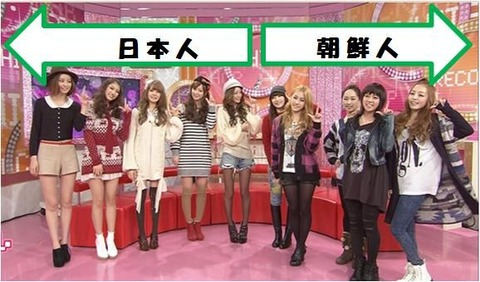 日韓女子 日本VS韓国