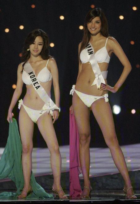 ミスコン 日本VS韓国
