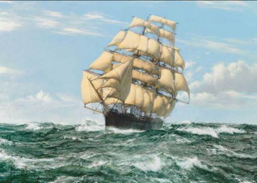 カティーサーク 帆船