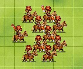 赤軍騎馬隊の勇姿