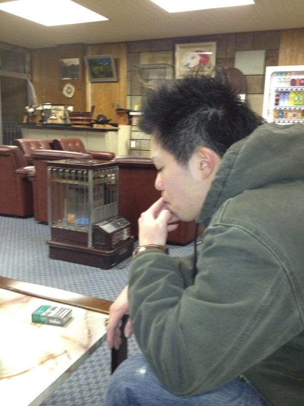 年明け スノボ マサ 旅館