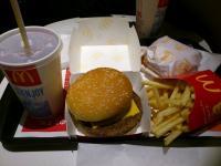 ハンバーグ マック 食物