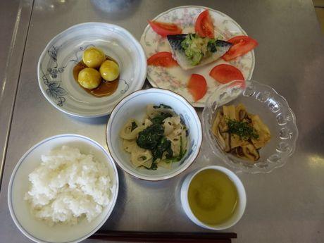 11月の健康料理